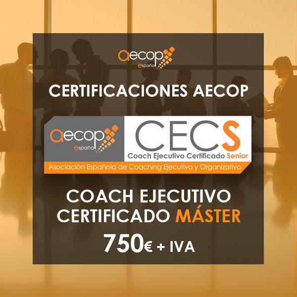 Coach Ejecutivo Certificado Máster