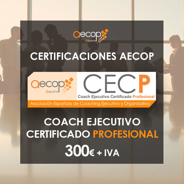 Certificación Coach Ejecutivo AECOP Nivel Profesional