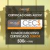 Certificación Coach AECOP Nivel Senior