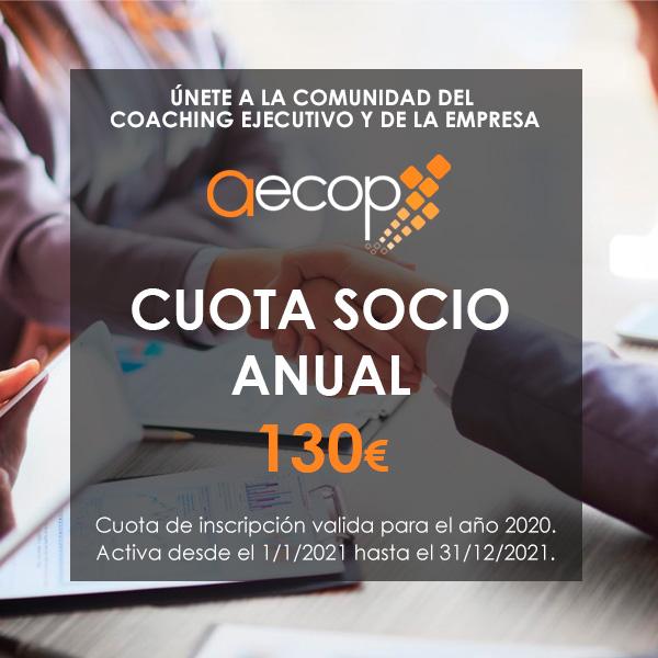 Cuota socio AECOP anual