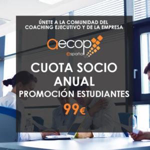 cuota socio AECOP especial estudiantes