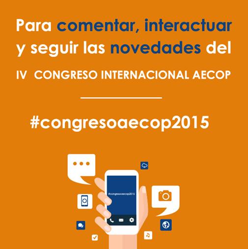 Ya está disponible el hashtag del IV Congreso Aecop