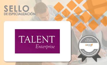 sello especializacion talent