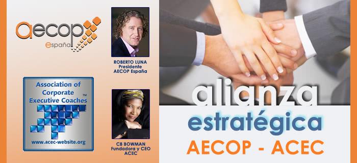 AECOP ESPAÑA FIRMA ALIANZA ESTRATÉGICA CON LA ACEC, ENTIDAD INTERNACIONAL REFERENTE EN COACHING EJECUTIVO