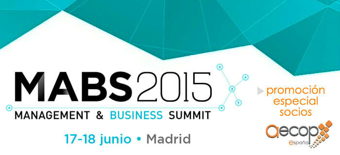 Promoción socios AECOP: MABS 2015