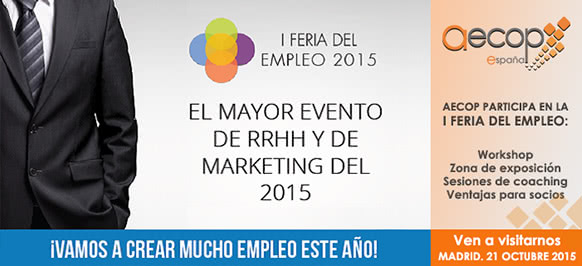 AECOP España participa en la I Feria del Empleo en la Era Digital