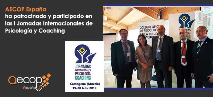 AECOP en las I Jornadas Internacionales de Psicología y Coaching