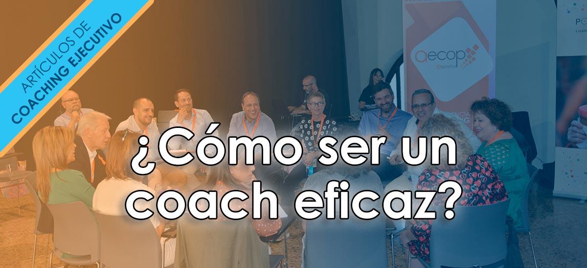 ser un coach eficaz