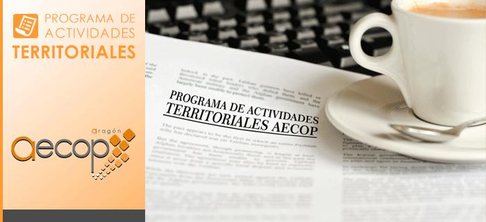 Programa de actividades AECOP Aragón – Abril/Mayo 2016