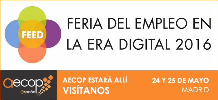 Visítanos en la Feria del Empleo en la Era Digital – FEED 2016