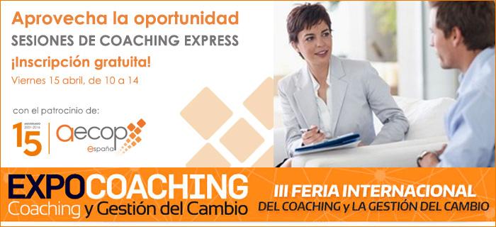 AECOP impartirá gratuitamente sesiones de coaching en Expocoaching