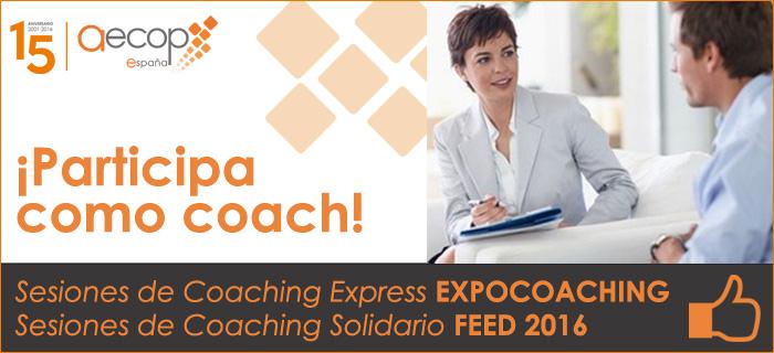 Participa como coach en Expocoaching 2016 y en FEED 2016