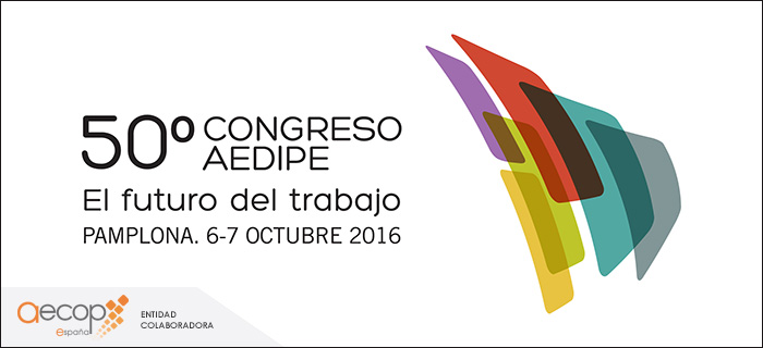 Descuento para socios AECOP en 50º Congreso AEDIPE