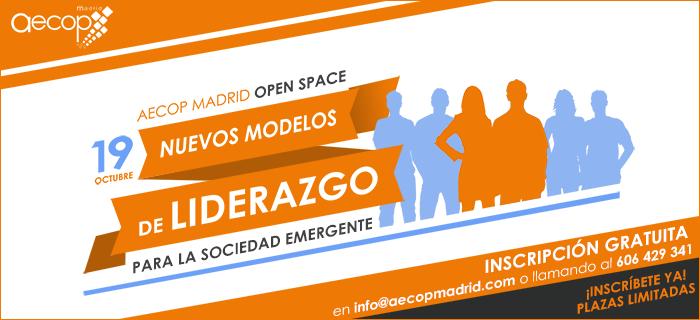 Open Space AECOP Madrid. Próximo 19 de octubre.