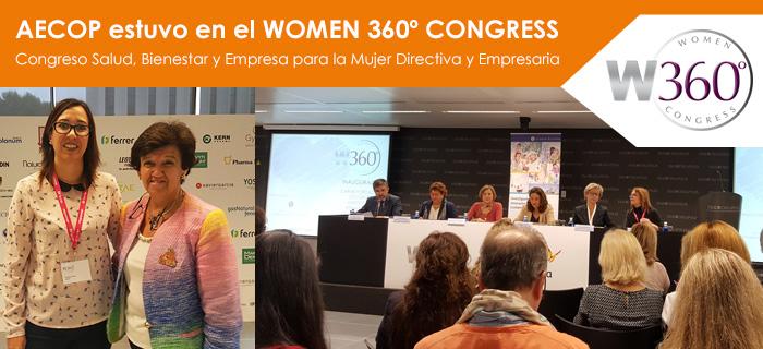 AECOP estuvo en el WOMEN 360º CONGRESS