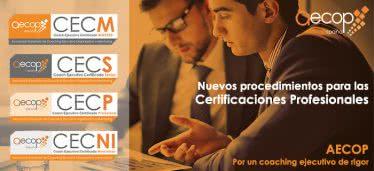 Certificaciones AECOP