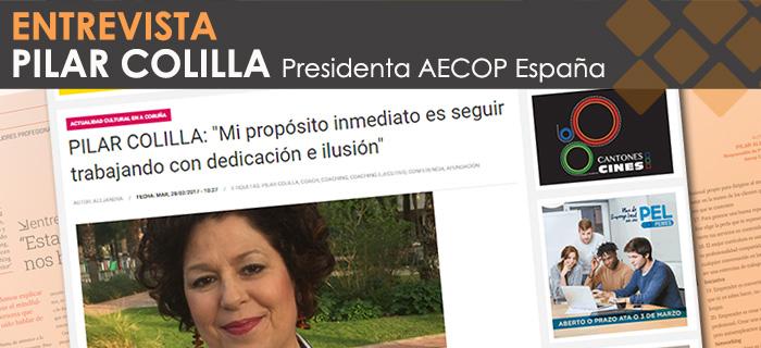 Entrevista a Pilar Colilla por CORUÑAhoy