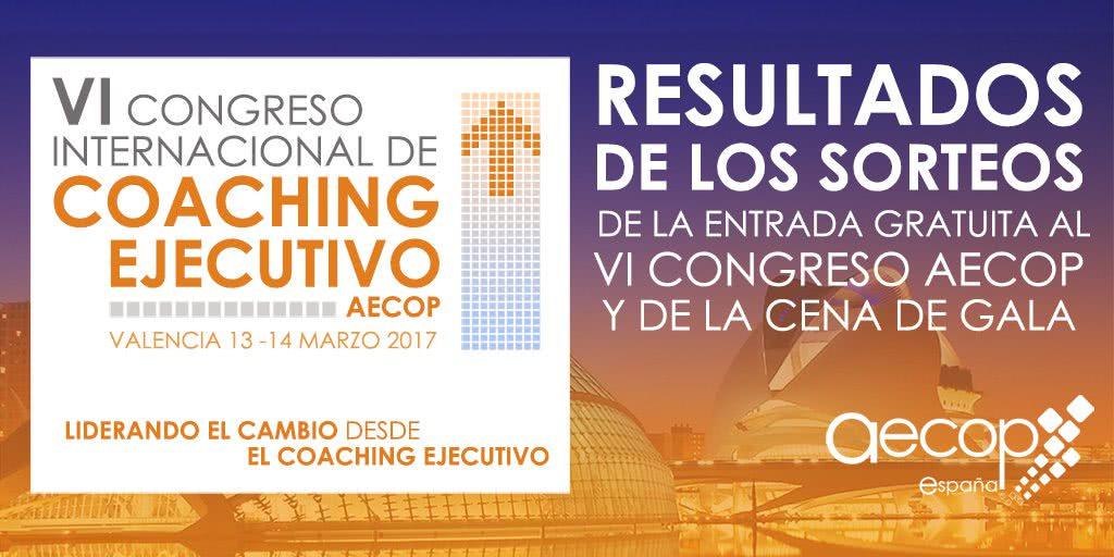 Resultado del sorteo al Congreso AECOP