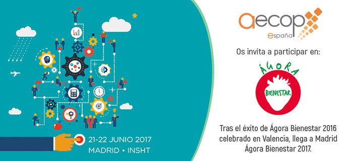 AECOP te invita a Agora Bienestar 2017