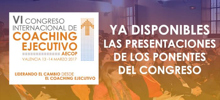 Presentaciones ponencias VI Congreso AECOP 2017