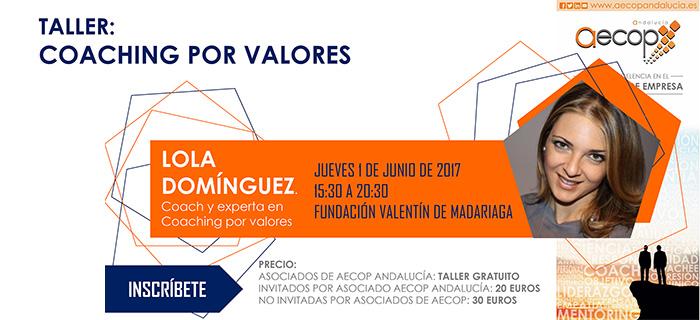 Taller AECOP Andalucía – Coaching por Valores