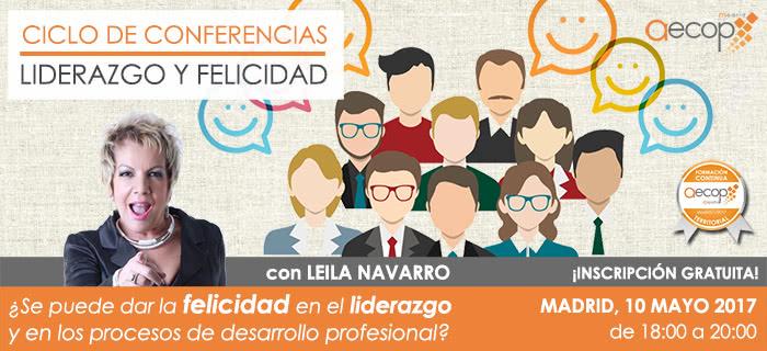 """AECOP Madrid te invita a que participes en la """"Conferencia"""" el próximo 10 de Mayo"""