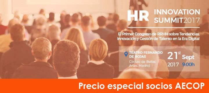 HR Summit 2017: Precio especial socios AECOP