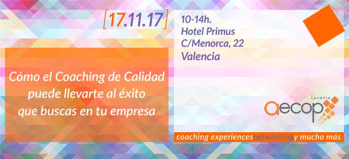 Próximo evento organizado por AECOP Levante
