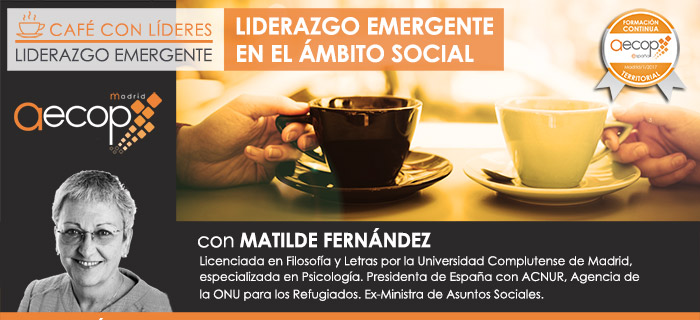 AECOP Madrid organiza el Café con Líderes