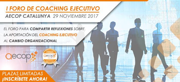 AECOP Catalunya organiza su I Foro de Coaching Ejecutivo