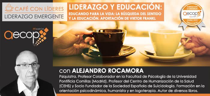 """Próximo """"Café con Líderes"""" AECOP Madrid"""
