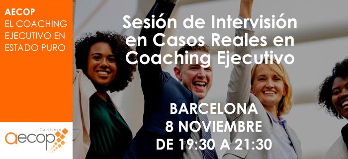 AECOP Cataluña organiza la Sesión de Intervisión en Casos Reales en Coaching Ejecutivo