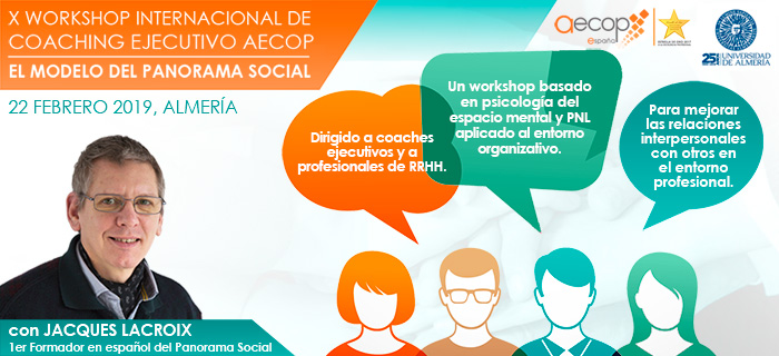 X Workshop AECOP: El Modelo del Panorama Social