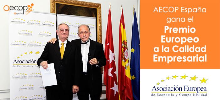 AECOP España gana el Premio Europeo a la Calidad Empresarial