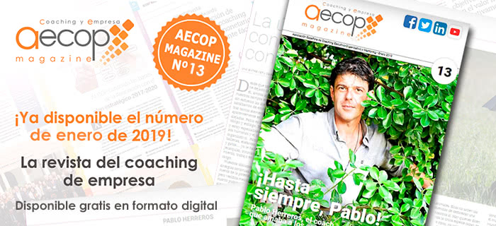 Ya disponible AECOP Magazine nº13 – enero 2019