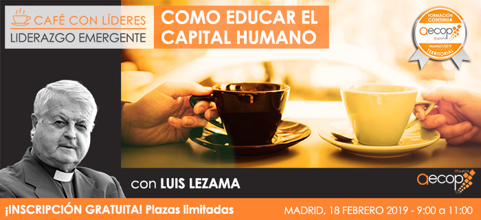 Próximo Café con Líderes AECOP Madrid