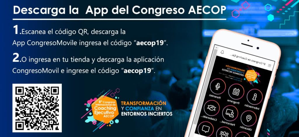 Ya disponible la app del 8º Congreso AECOP