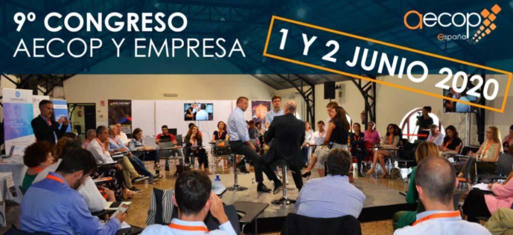 9º CONGRESO AECOP Y EMPRESA: 1 y 2 junio 2020