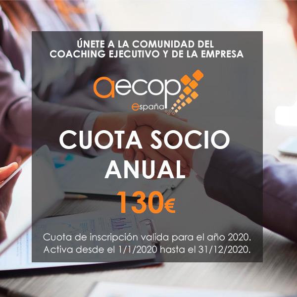 cuota socio anual AECOP