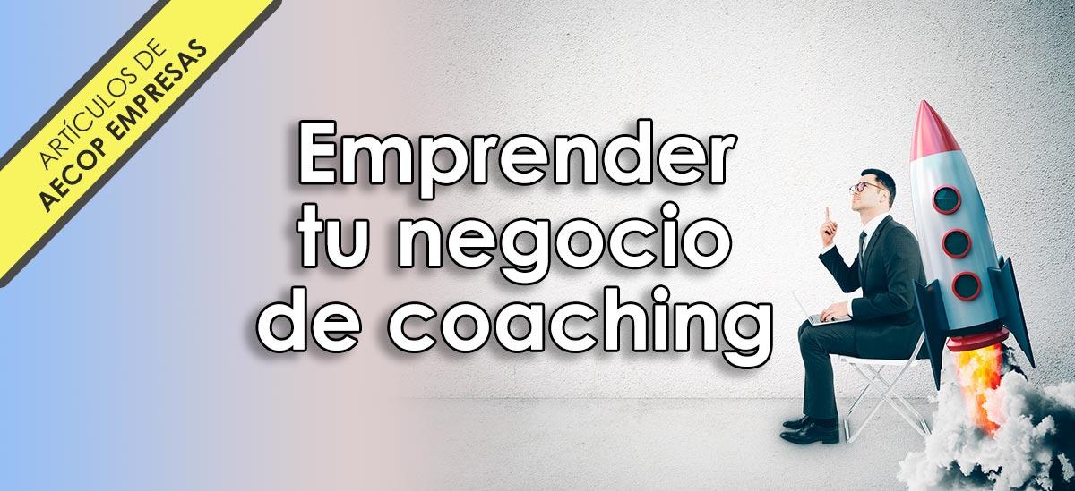 emprender un negocio de coaching