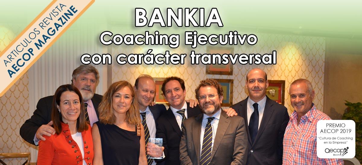 caracter transversal coachiing ejecutivo bankia