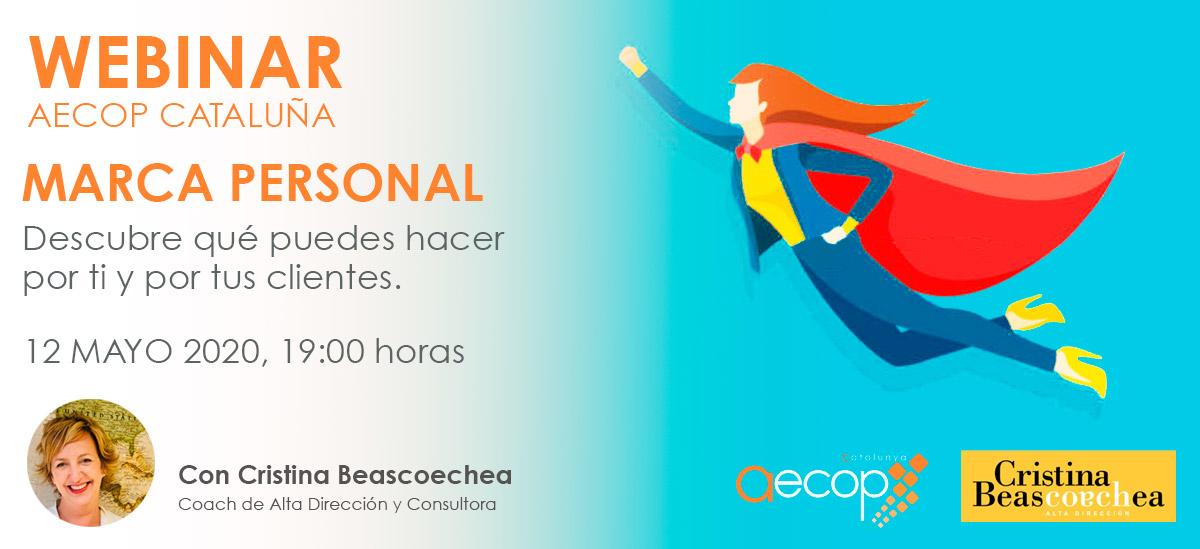 webinar marca personal aecop catalunya