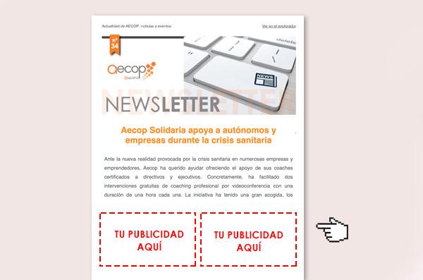 publicidad newsletter aecop