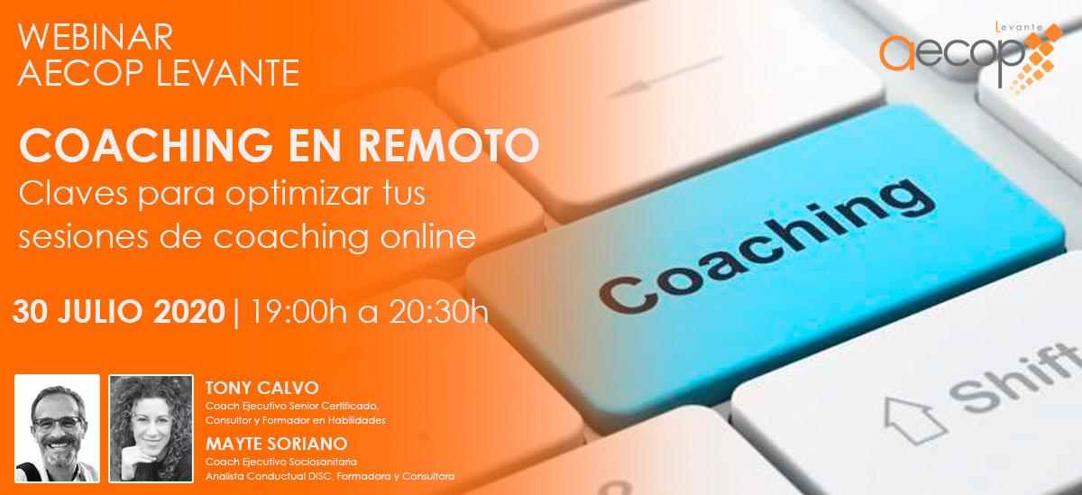 webinar coaching online aecop levante