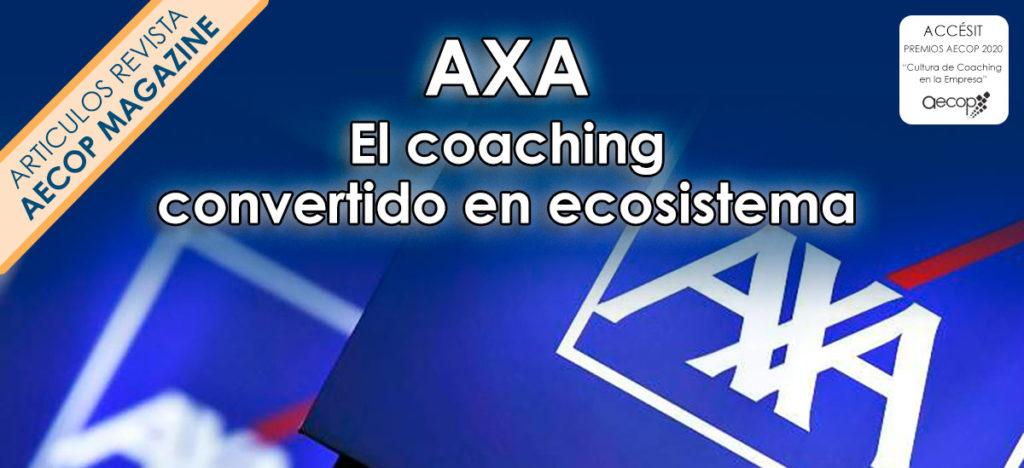 axa seguros ecosistema coaching ejecutivo