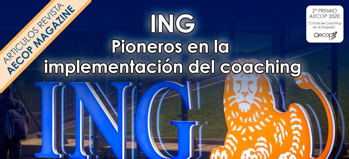 ING pioneros en implementacion del coaching