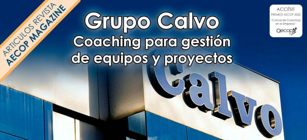 coaching gestión de equipos grupo calvo