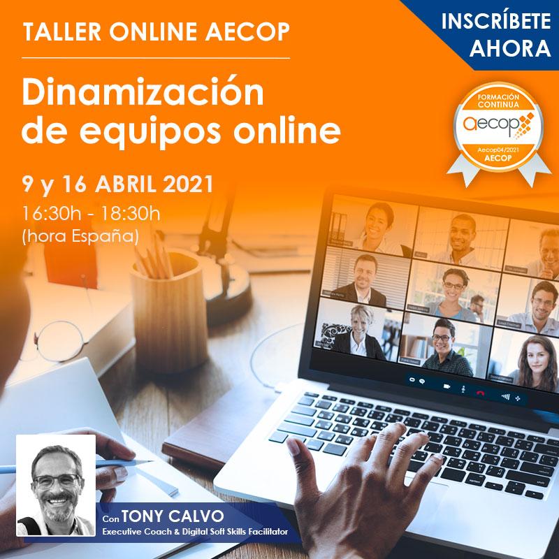 taller dinamizacion equipos online abril 2021