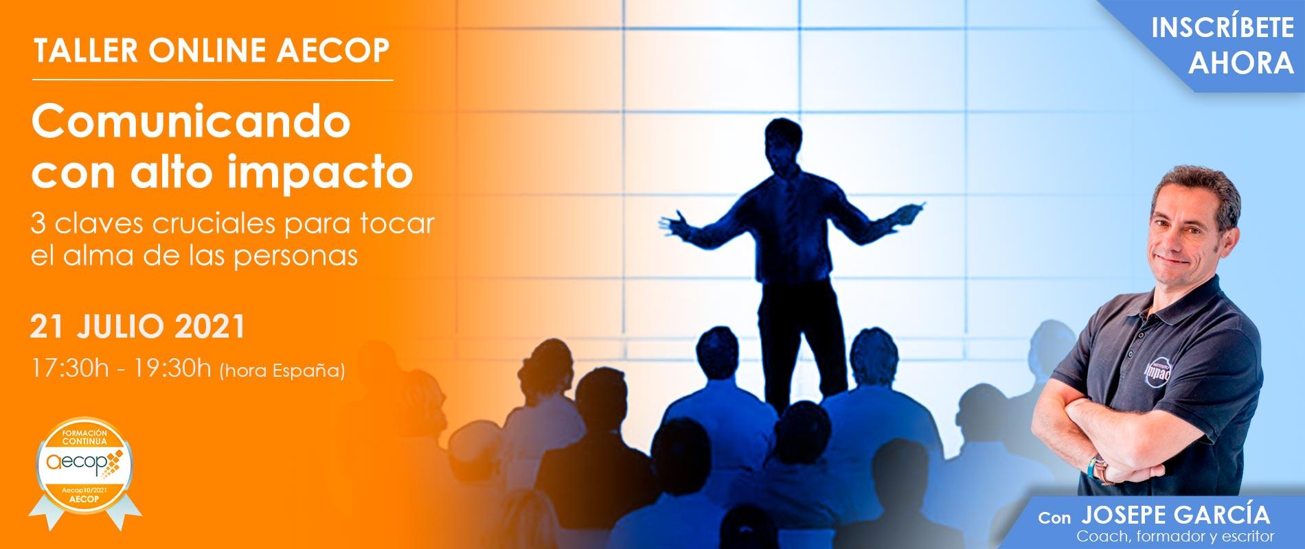 slide taller de comunicacion alto impacto